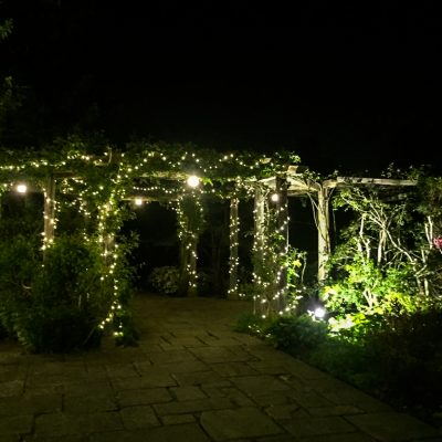 fairy light wedding event lighting