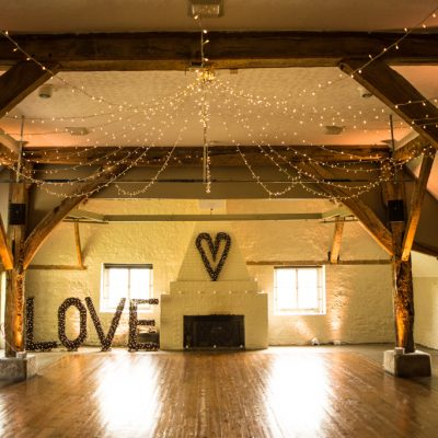 Dorset House, professional wedding lighting, Twig Love Letters