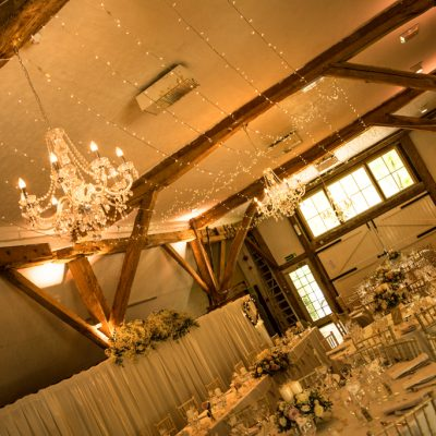 Dorset House, professional wedding lighting, amber glow, chandelier, fairylights