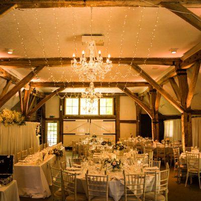 Dorset House, professional wedding lighting, chandeliers