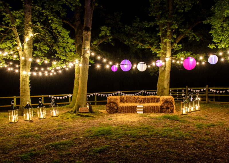 professional wedding lighting, paper lantern, festoon, festival