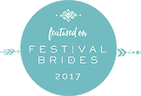 Featured on festival brides