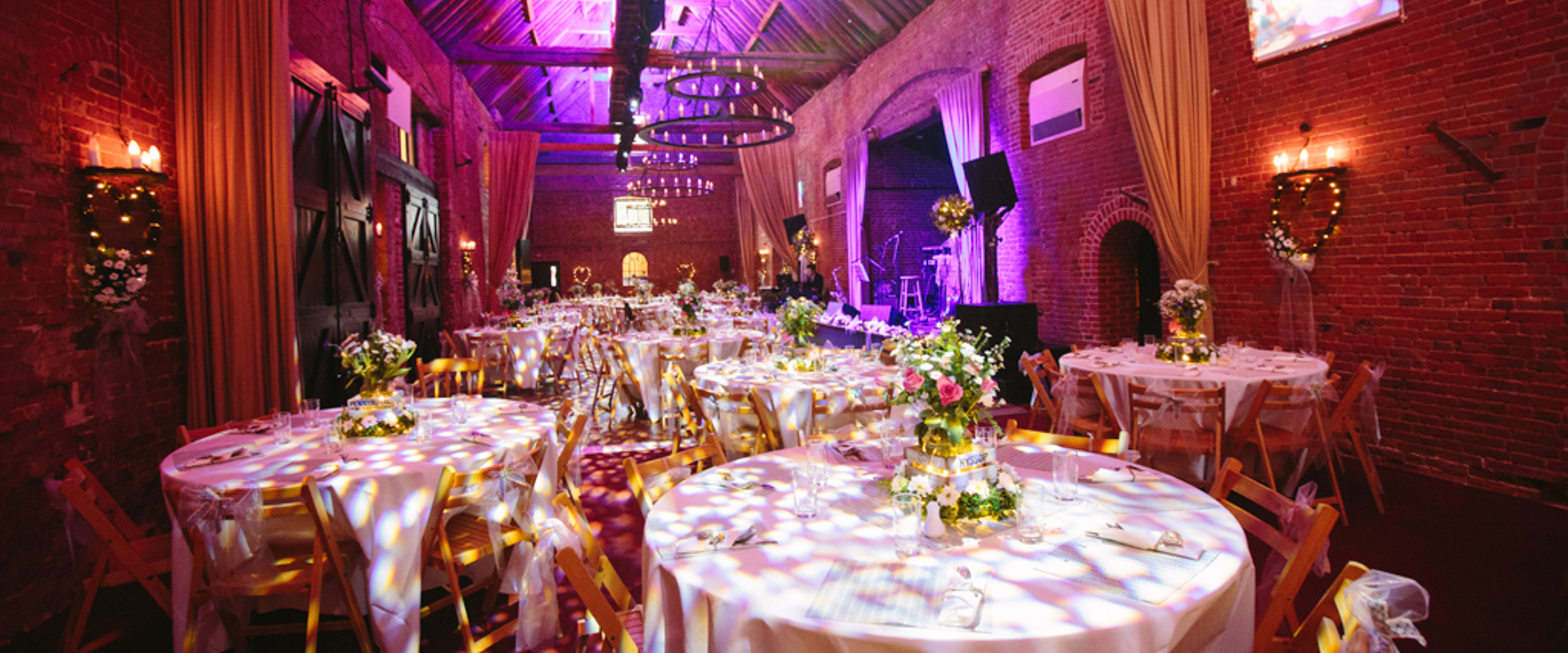 Lights for Weddings - Wedding lighting in Sussex, Surrey, Kent, Hampshire & London
